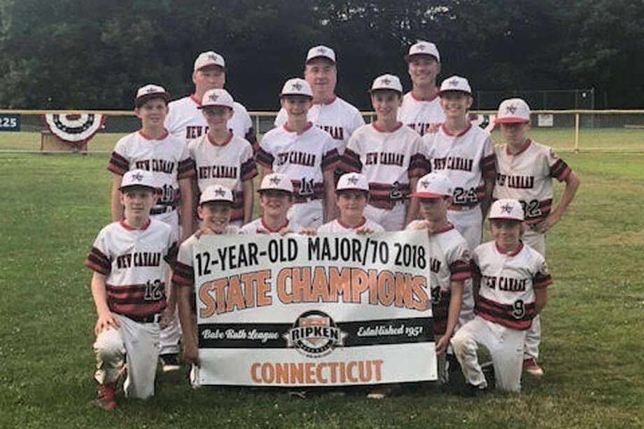 New Canaan's 12U All-Star baseball team earned a berth in the Cal Ripken New England Regional Tournament this weekend in Nashua, N.H., by winning the state tournament and the right to represent Connecticut. — Contributed photo