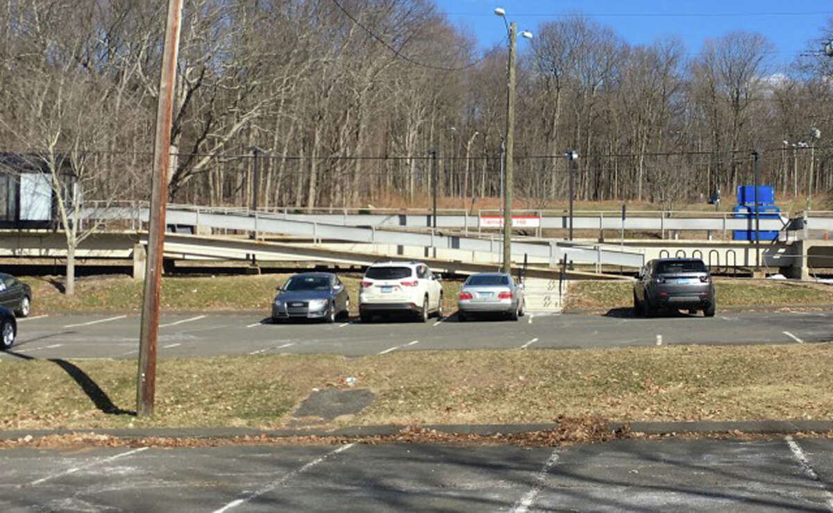 The Lapham land that may be put up for sale abuts Talmadge Hill Train Station.