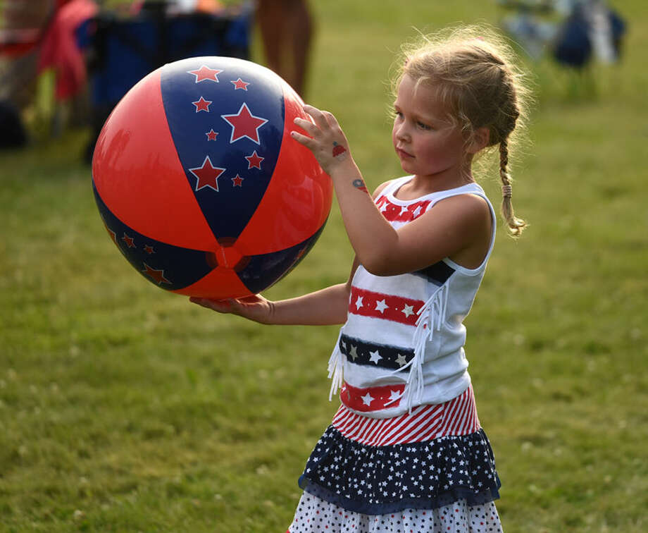 Scenes from the 2018 New Canaan Family Fourth celebration Wednesday in Waveny Park. — Dave Stewart photo