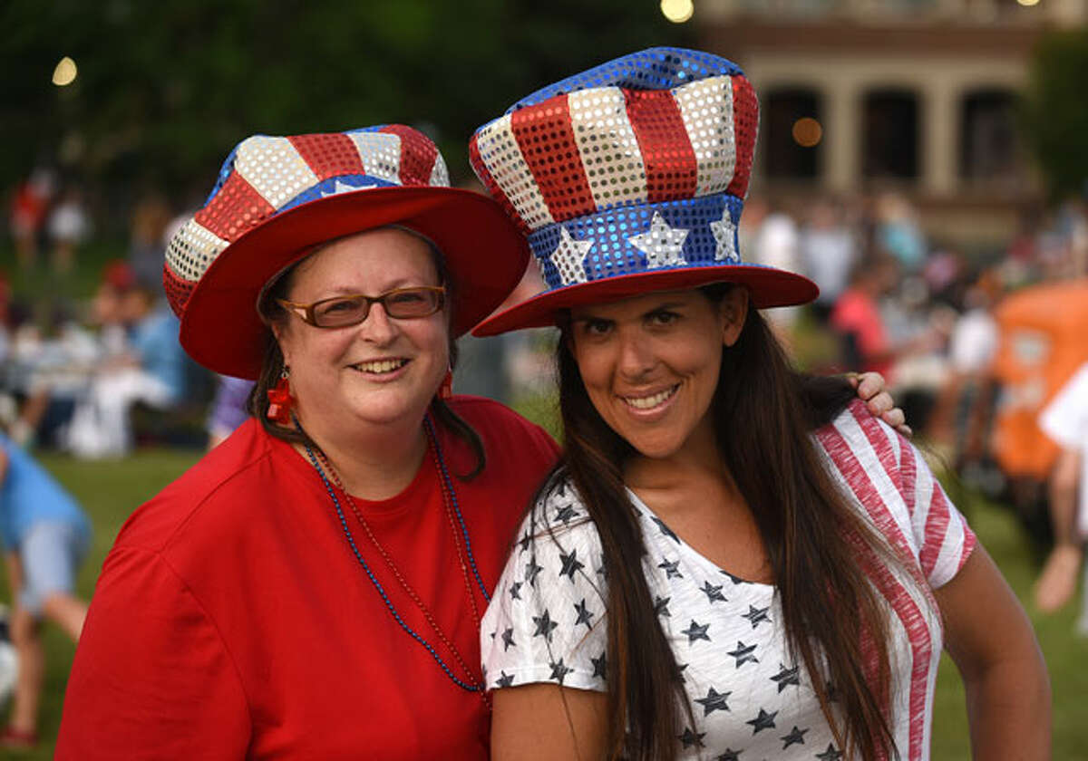 Scenes from the 2018 New Canaan Family Fourth celebration Wednesday in Waveny Park. - Dave Stewart photo