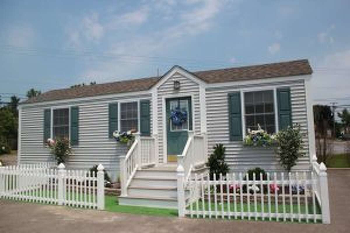 A temporary health care structure built by ECHO Cottages in New York. The company's owner, Bob Novak, told The Bulletin he worked with Connecticut's legislature to draft the state's new law. - Contributed photo