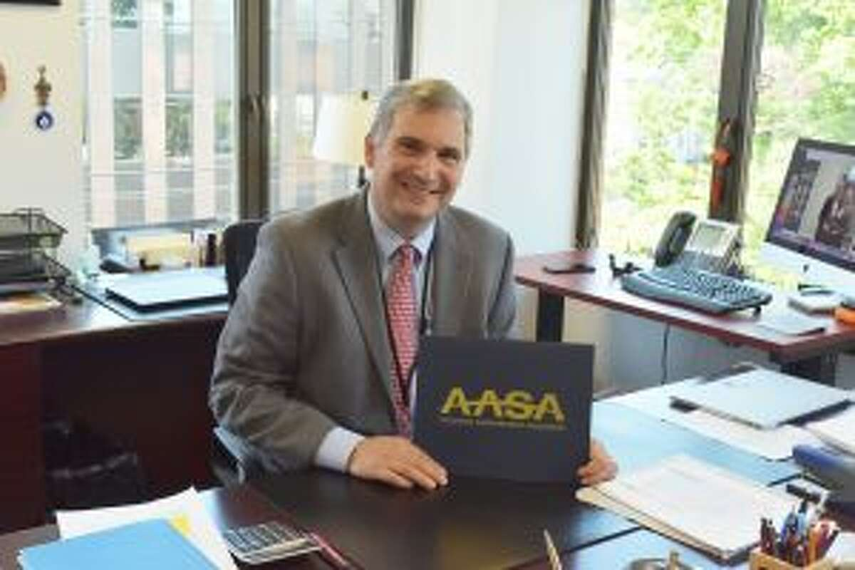 New Canaan Superintendent of Schools Dr. Bryan Luizzi has been recognized among school superintendents across the county by the American Association of School Administrators.