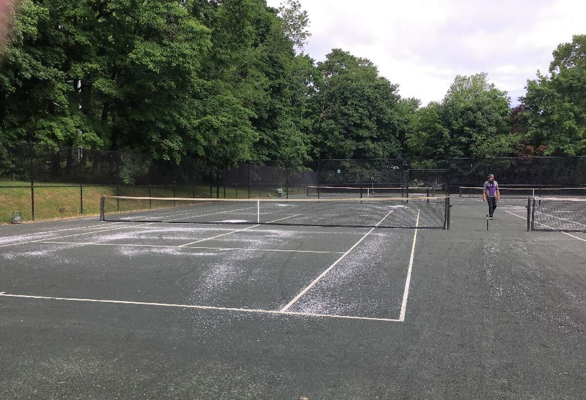 Court 1 at Mead Park Thursday, June 21. - Greg Reilly photo