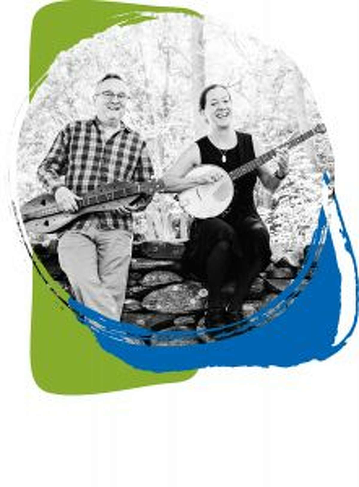 A list of the latest events going on at the New Canaan Library. Elwood Donnelly and Aubrey Atwater of musical duo Atwater-Donnelly will perform an outdoor concert on June 23 at New Canaan Library. - Contributed photo