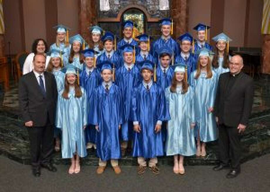 Graduates from the St. Aloysius School in New Canaan are heading to a variety of high schools.
