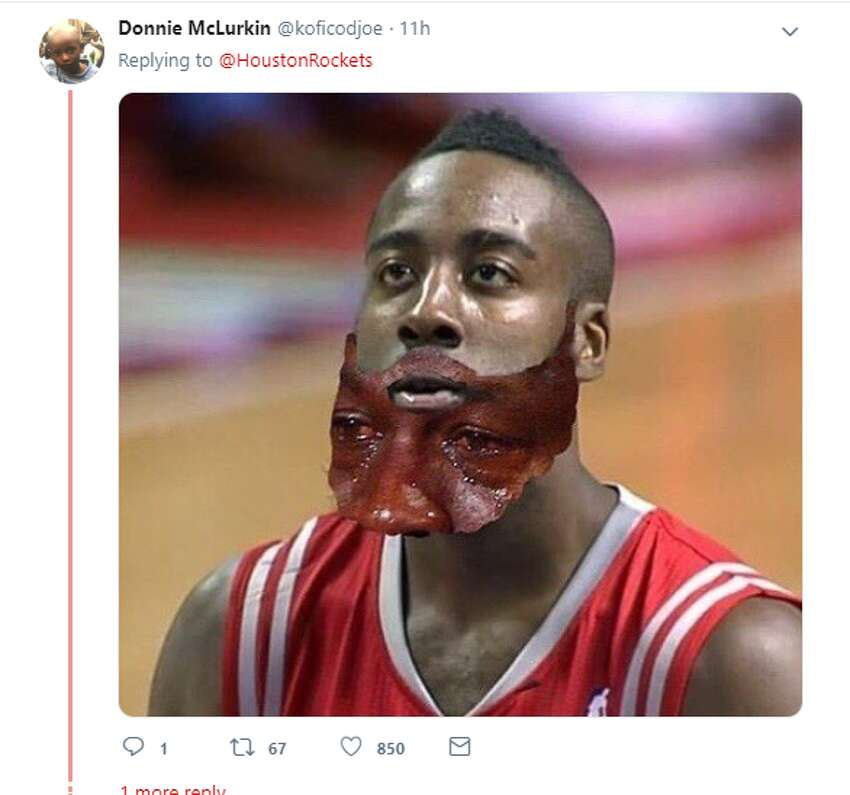 Twitter account: @koficodjoe >>> Click through to see how Houston supporters and fans around the NBA responded to the news that Bucks forward Giannis Antetokounmpo beat out James Harden for the NBA's Most Valuable player award.