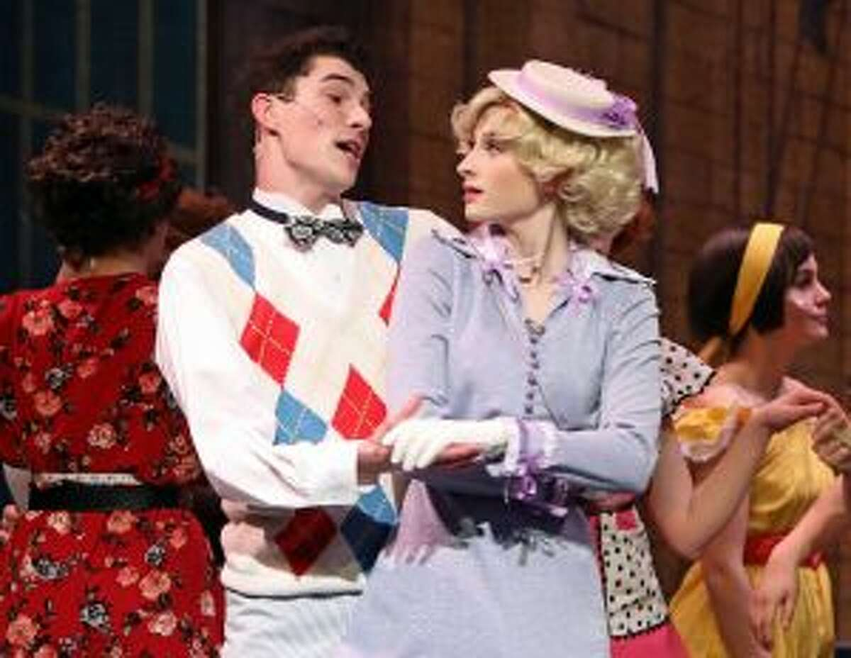 The New Canaan High School Theatre program received 21 Halo Award nominations. Will Dooley was nominated for for Supporting Actor in 42nd Street and Grace Rucci for Supporting Actress in 42nd Street. - Contributed photo