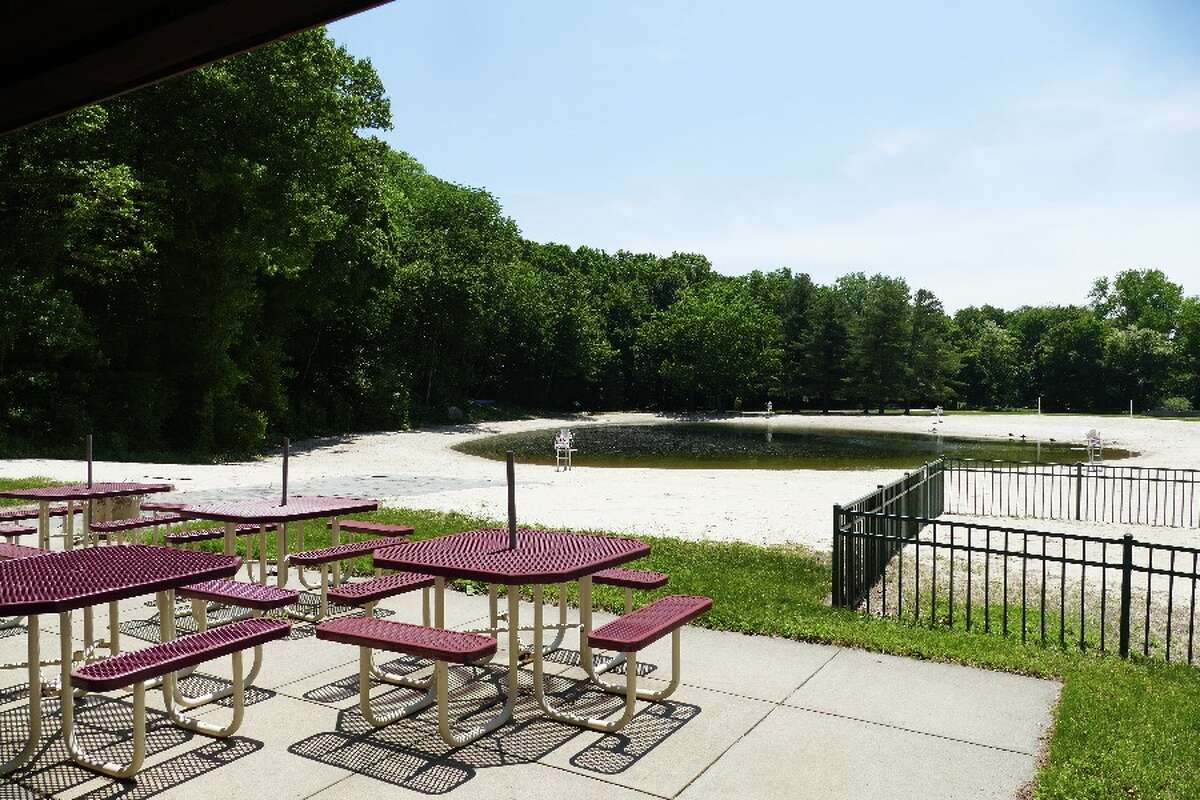 From the snack bar area at Kiwanis Park looking at the beach and fresh water pond. - Luca Triant photo