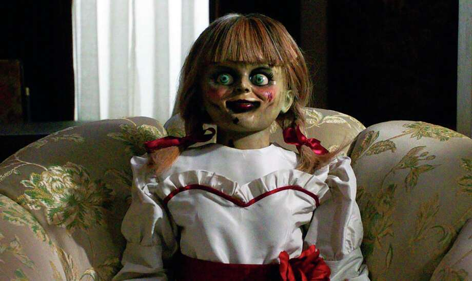 """PHOTOS: The """"Annabelle Comes Home Artifact Tour"""" truck is rolling into town, conjuring up scares in Houston Thursday and Friday. >>> See more on the """"Annabelle Comes Home Artifact Tour"""" ... Photo: Warner Bros. Pictures / © 2019 Warner Bros. Entertainment Inc. All Rights Reserved."""