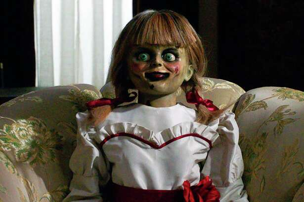 Who wouldn't want a selfie with this lovely doll? A special 'haunted' artifact tour will be in San Antonio Tuesday and Wednesday at La Villita Historic Arts Village to promote the Wednesday release of the new horror film, 'Annabelle Comes Home.'