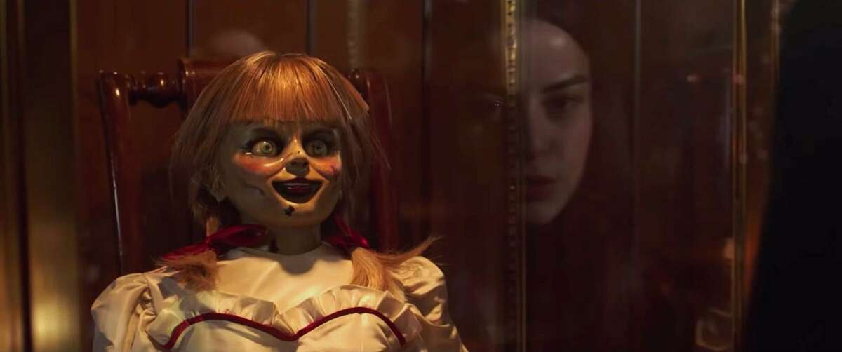 """""""Annabelle Comes Home,"""" which hits theaters across the U.S. Wednesday, is part of the cinematic """"Conjuring"""" universe, an interconnected series of hit horror films that began in 2013."""