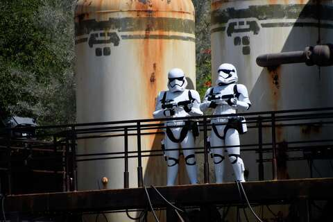 Guests are already reselling 'Star Wars: Galaxy's Edge