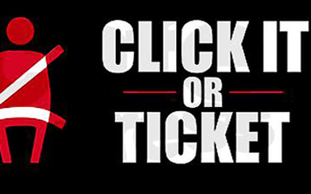 Click it or Ticket, Day or Night: New Canaan Police are checking that drivers are wearing their seat belts from May 21 to June 3.