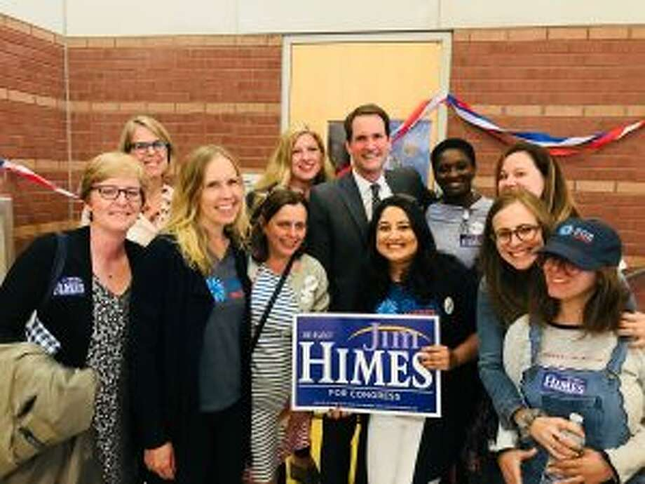 New Canaan: U.S. Congressman Jim Himes was nominated the 4th District convention May 14, 2018.