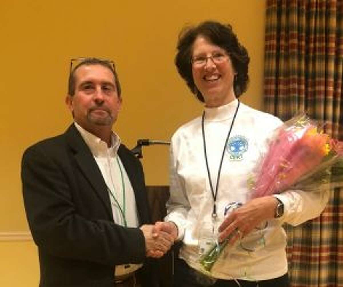 New Canaan: The outgoing CERT director has received flowers from their replacement.