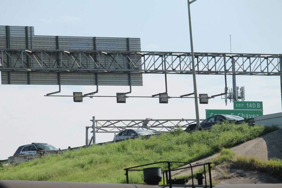 Police fatally shot a man who was threatening to jump off Interstate 37 when he pulled out a knife on them on June 25, 2019.