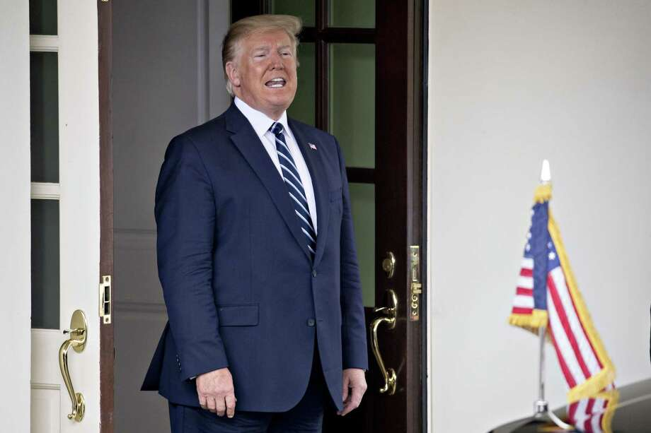 President Donald Trump at the West Wing of the White House in Washington, D.C., on June 20, 2019. Photo: Bloomberg Photo By Andrew Harrer. / © 2019 Bloomberg Finance LP