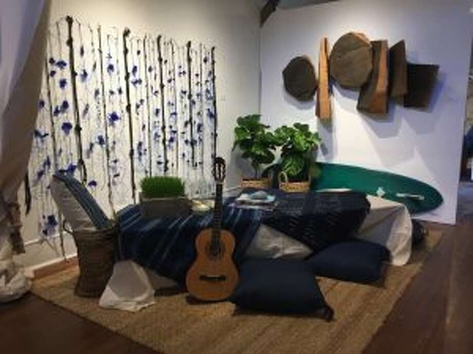 The Perfect Partners: Art in Design recently opened at the Silvermine Arts Center in New Canaan. Design by Krista Fox of New Canaan