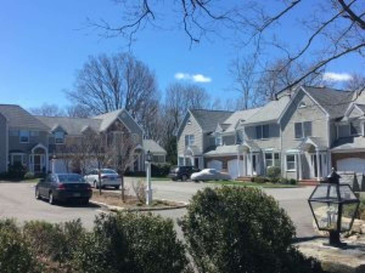 A view of Laurel Green condominiums, as seen from Mead Street. - Greg Reilly photo