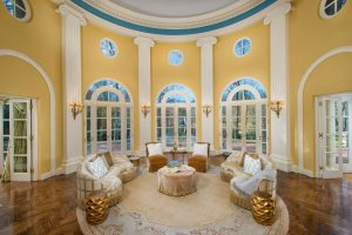 New Canaan: The Palladian Rotunda at Huckleberry House, the June 6 setting for A Gatsby Moment. - Contributed photo