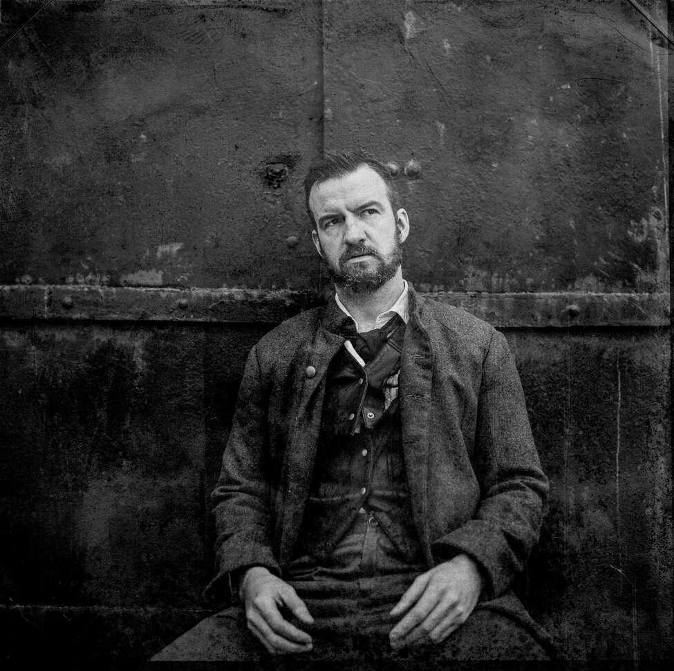 Aaron Novak portrays Donald, a WWI vet,in author-director John McEneny's new play