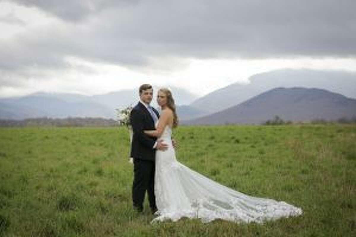 New Canaan: Hannah Utley and Brendan Letarte recently wed in Lake Placid. Brendan Letarte and Hannah Utley