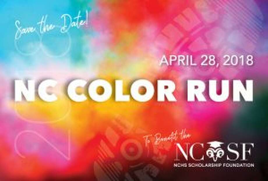 The New Canaan Color Run steps out Saturday. New Canaan Color Run postcard