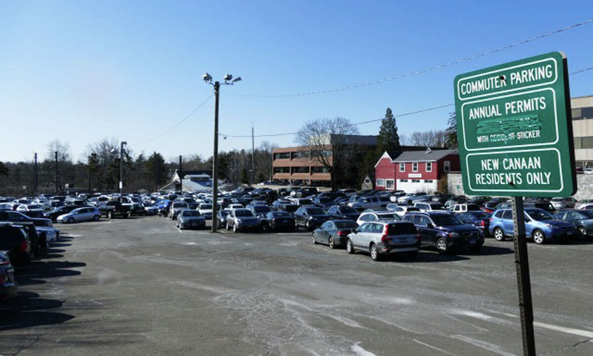 The Board of Selectmen recently unanimously voted to follow a recommendation of the Parking Commission to keep parking fees unchanged for 2019-20. - Grace Duffield / Hearst Connecticut Media