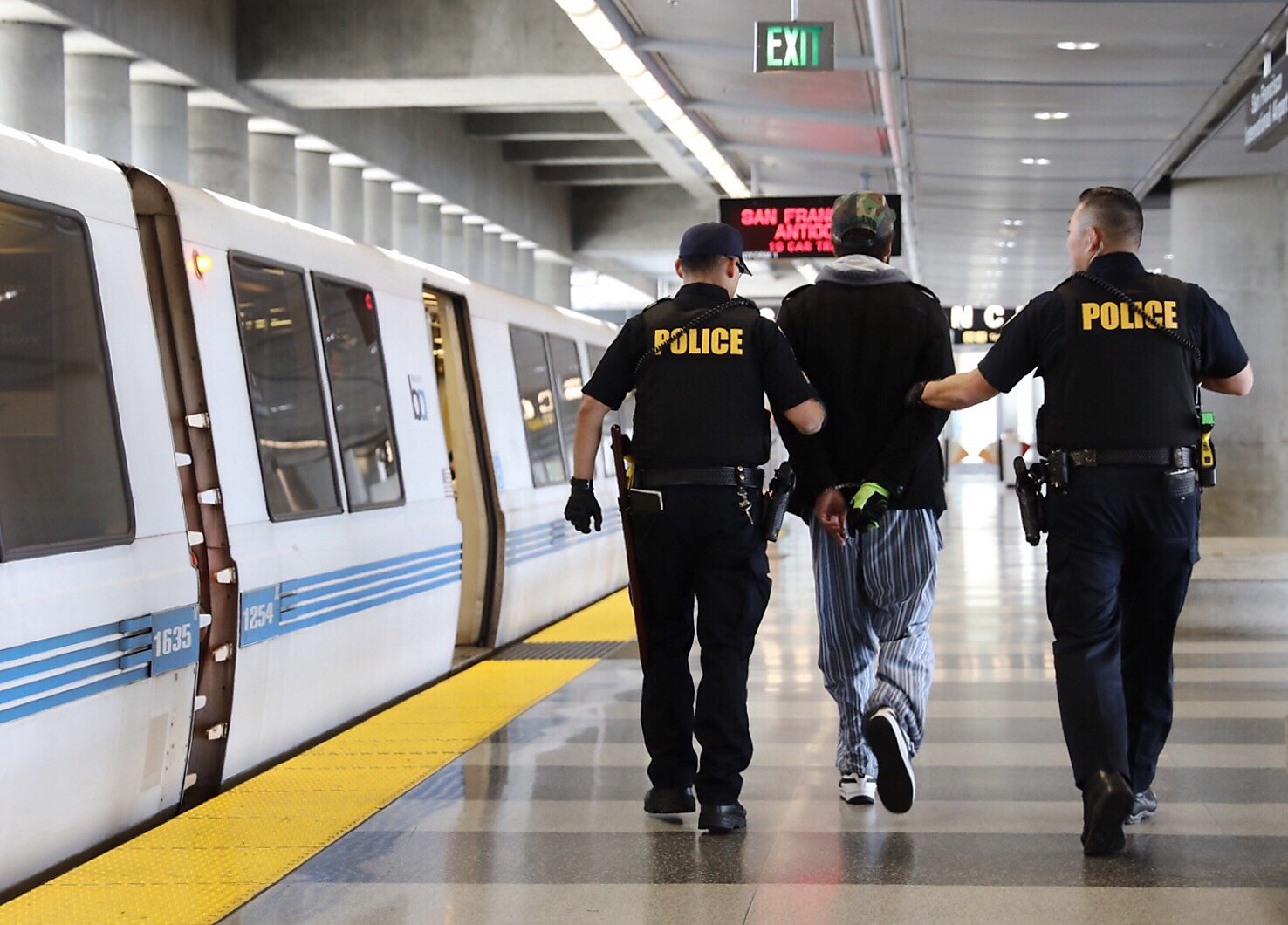Violent crime on BART more than doubles in four years ...