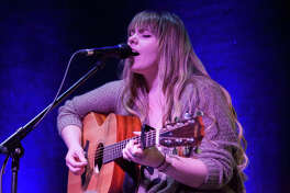 Lauren Waters performs at Songwriters in the Round Saturday at Jacoby Arts Center on East Broadway in Alton. Songwriters in the Round is a quarterly event featuring songwriters playing original music in an intimate setting.