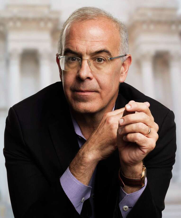 "Writer and commentator David Brooks will discuss his latest book, ""The Second Mountain: The Quest for a Moral Life,"" as part of WSHU Public Radio's ""Join the Conversation"" author series at Sacred Heart University in Fairfield on July 30. Photo: Howard Schatz / Contributed Photo"