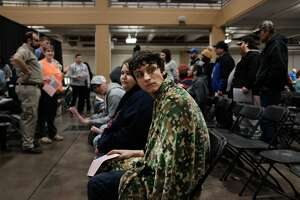 KNOXVILLE, TENNESSEE - FEBRUARY 03: Patients wait to receive assistance at a Remote Area Medical Clinic (RAM) on February 03, 2019 in Knoxville, Tennessee. Friday was the first day of treatment for the three day clinic which will be the health organization's 1000th clinic. Over fifteen hundred people are expected by Sunday's conclusion seeking free dental, medical and vision care. RAM provides free medical care through mobile clinics in underserved, isolated, or impoverished communities around the country and world. As health-care continues to be a contentious issue in America, an estimated 29 million Americans, about one in 10, lack coverage. (Photo by Spencer Platt/Getty Images)