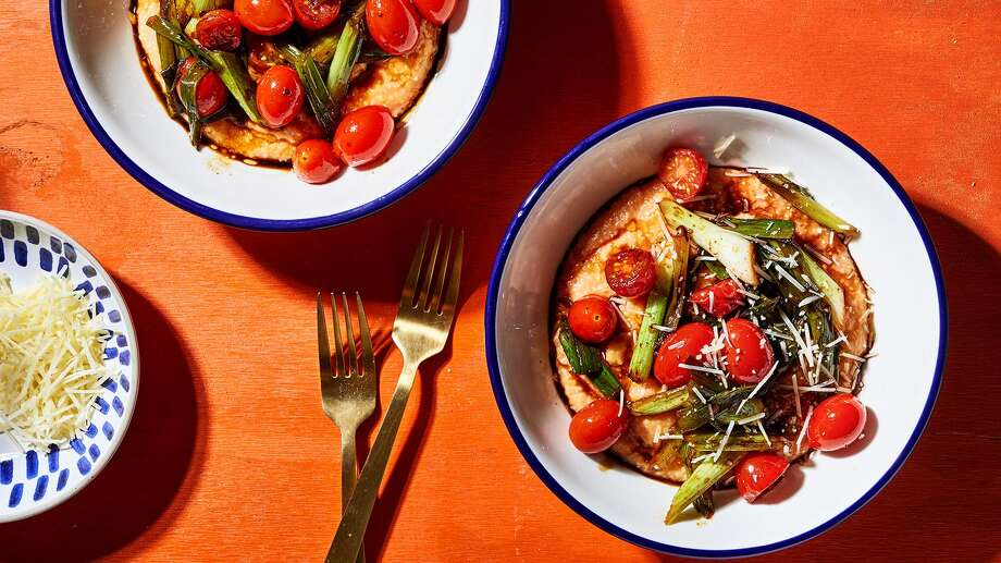 This polenta will satisfy for those nights when time is tight