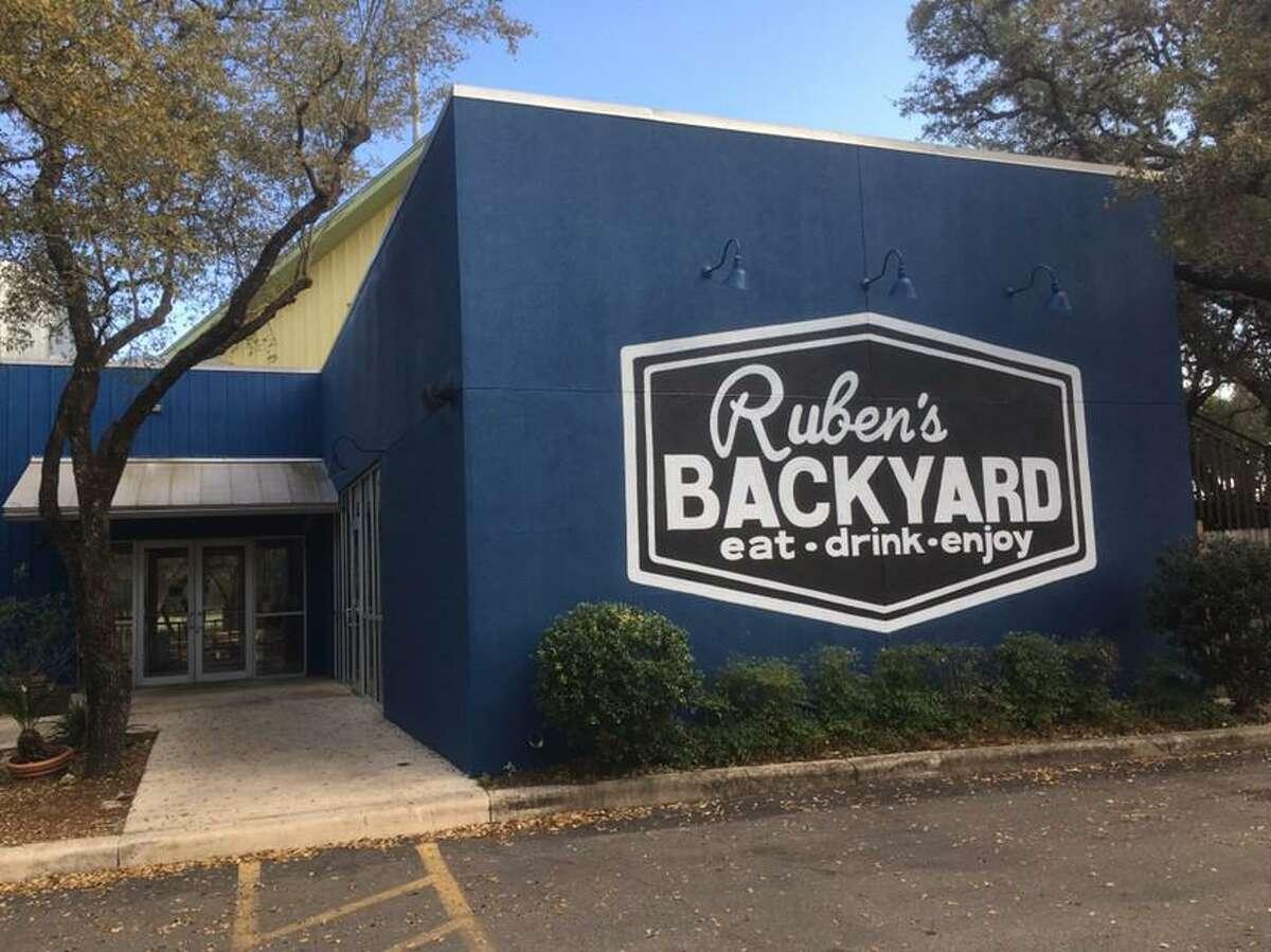 Ruben's Backyard at 13838 Jones Maltsburger Road, inside the former space of MoMak's Backyard Malts & Burgers, has closed.