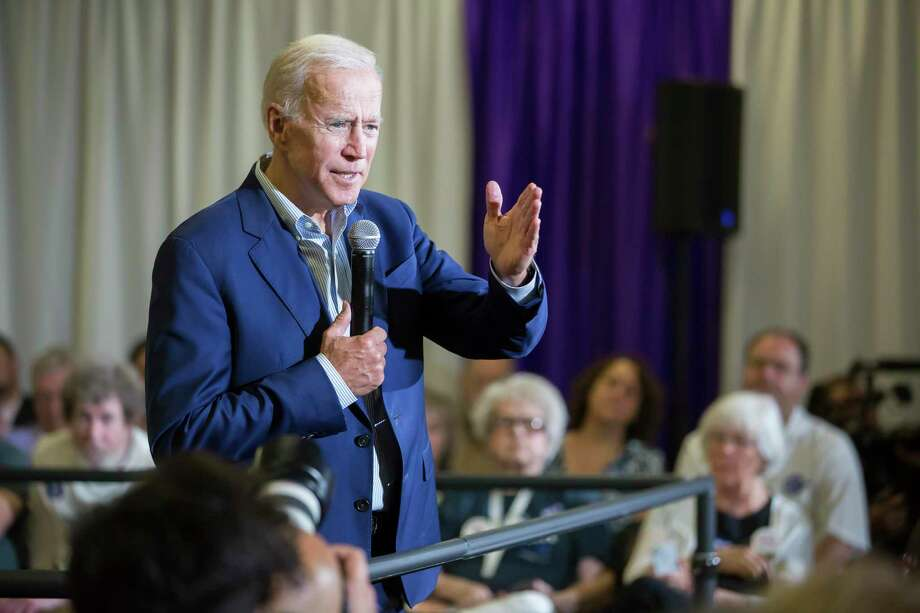 Joe Biden is facing intense backlash after speaking fondly of working with segregationist senators. Photo: Rachel Mummey /New York Times / NYTNS