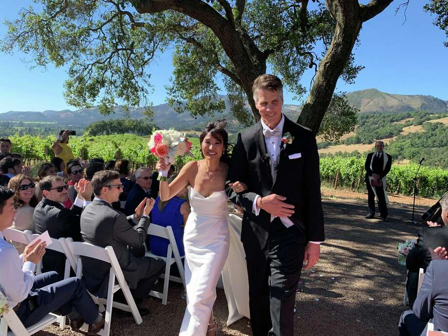 Former Washington first lady Mona Lee Locke was married over the weekend to Cory Van Arsdale, chief operating officer at KonnectOne. Photo: Courtesy Roger Nyhus