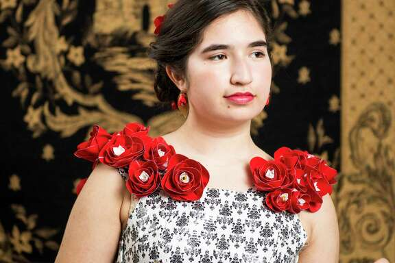 Nina De La Torres is a finalist in the nationwide Stuck at Prom scholarship contest. Sponsored by Duck brand duct tape, the contest challenges high school students make prom attire out of duct tape with the grand prize winner getting $10,000 to be used toward their education.