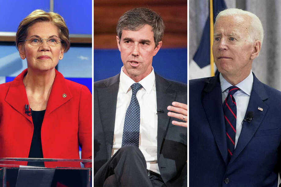 United States Senator Elizabeth Warren, former U.S. Representative Beto O'Rourke and former U.S. Vice President Joe Biden are just three of the 20 Democratic candidates for President who will be on stage for the party's first Primary debates.