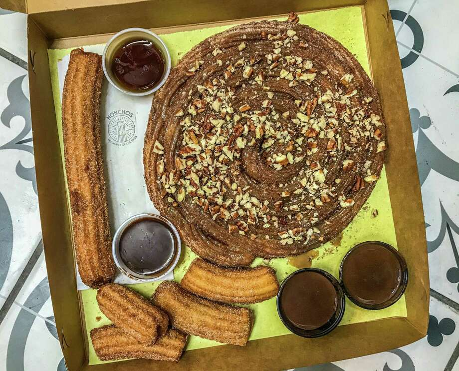 A selection of churros from Honchos at 6421 Broadway in Alamo Heights. Photo: Paul Stephen / Staff