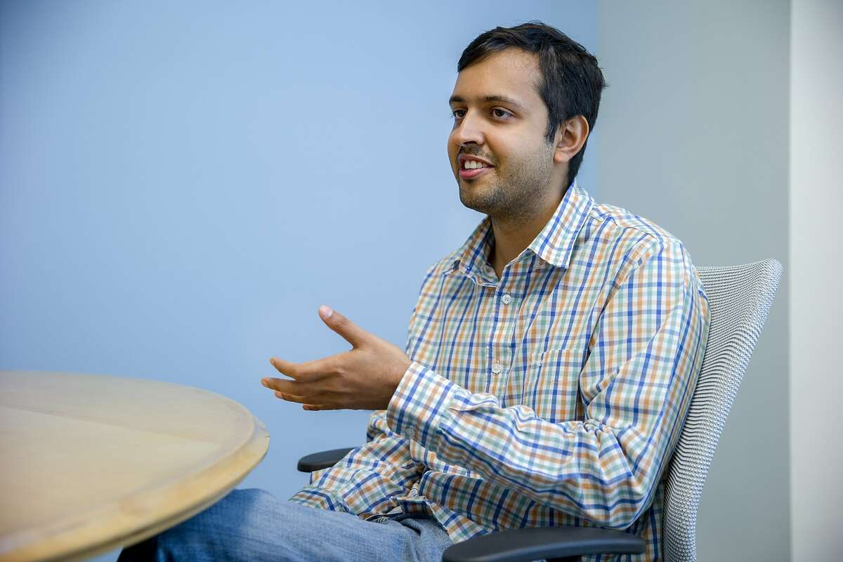 Drive.ai cofounder and CEO Sameep Tandon on Wednesday, Aug. 9, 2017, in Mountain View, Calif. Drive.ai is a Silicon Valley startup that's creating artificial intelligence software for autonomous vehicles.