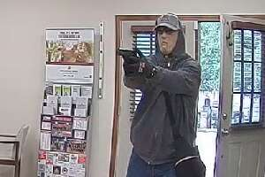 The Texas Bankers Foundation is offering a $5,000 reward for info on this bank robber, who held up a bank in the 14700 block of Ranch Road 12 in Wimberley on June 20, 2019.