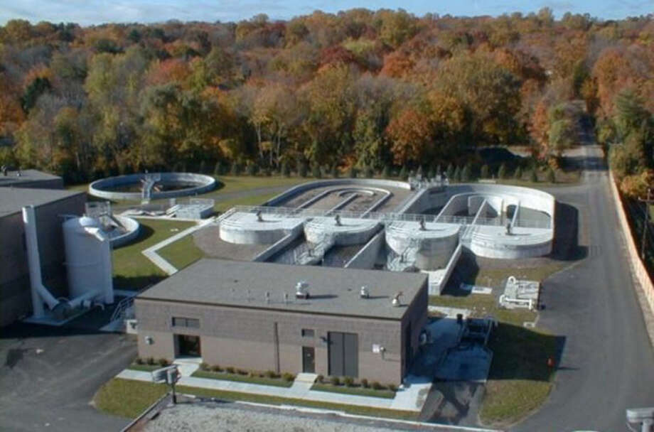 The New Canaan Board of Finance approved changes to sewer fees, while giving nonprofits a six-month reprieve. New Canaan Sewer Plant. Contributed photo