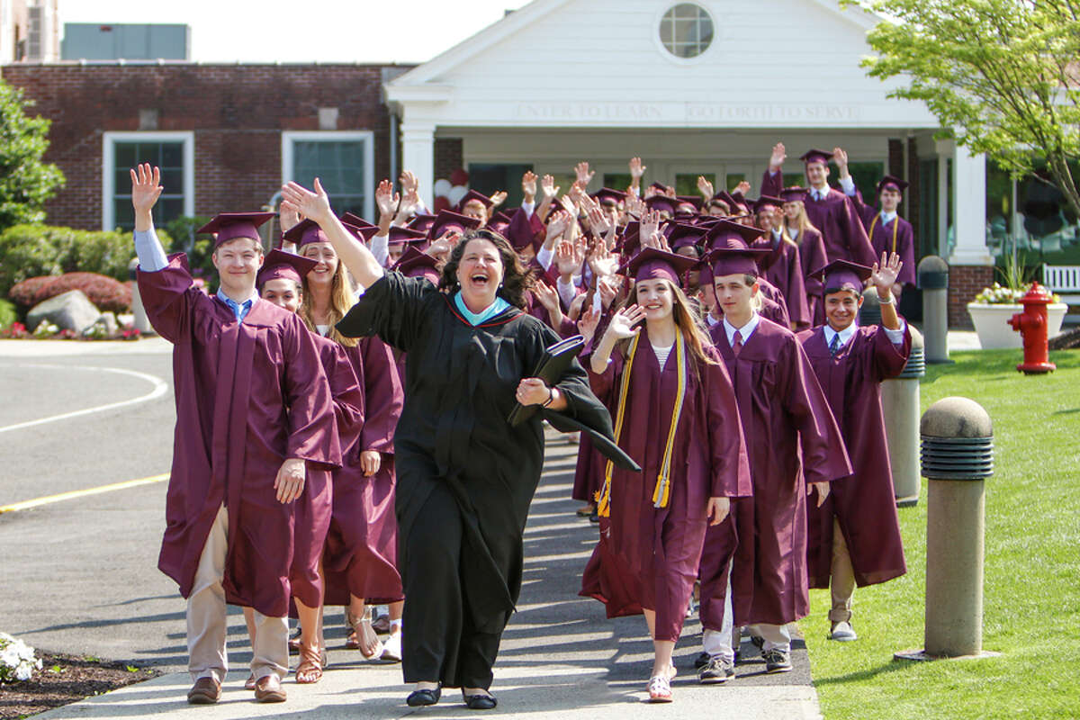 St. Luke's School celebrated its 90th Commencement with the Class of 2019 on May 31, 2019. Contributed photo