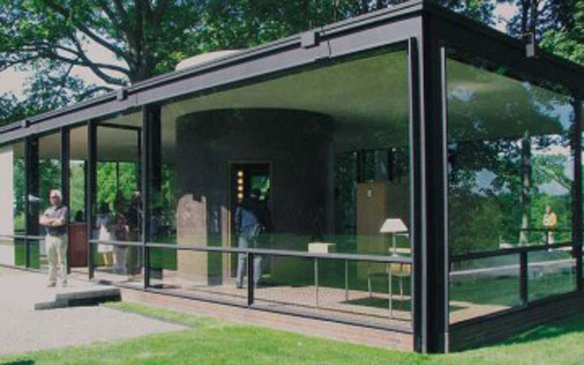The Glass House in New Canaan, Conn. - Contributed photo