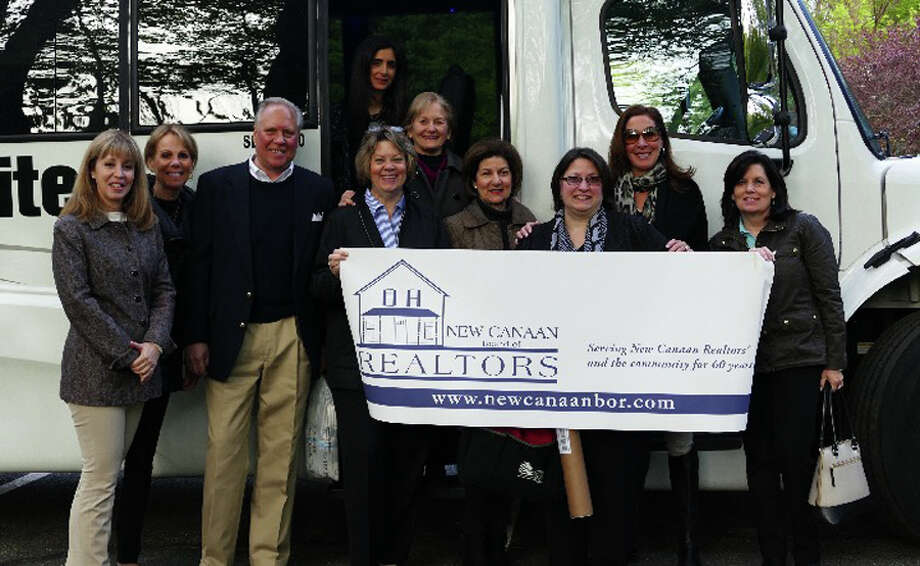 Pictured is a previous New Canaan Board of Realtors event. Contributed photo
