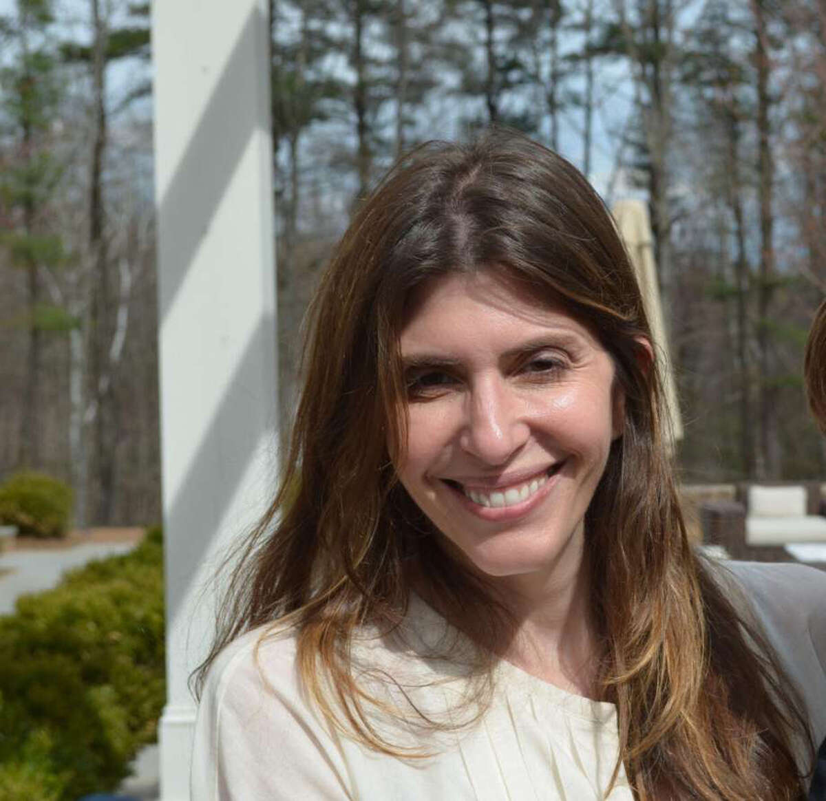 An added layer of security has been placed in missing New Canaan woman Jennifer Dulos' neighborhood as the search for the 50-year-old mother of five reached two weeks. (Handout/Hartford Courant/TNS). Photo: Handout / TNS
