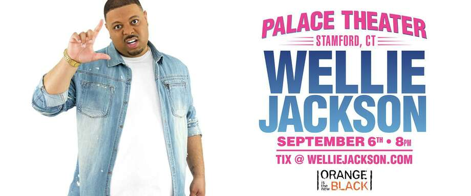 Comedian Wellie Jackson will be at Stamford's Palace Theatre on Sept. 6. Photo: Palacestamford.org / Contributed Photo