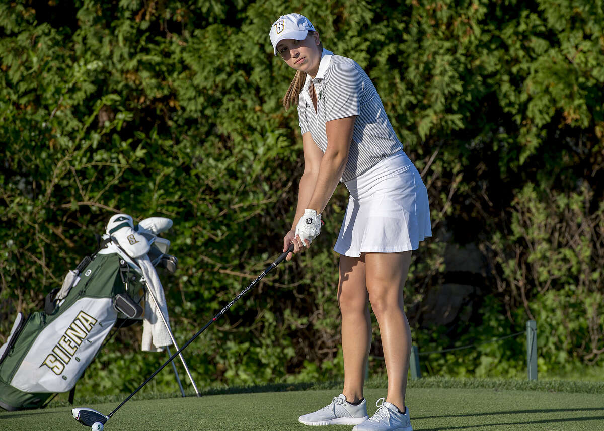 Sara Riso, a Buffalo area native who just completed her senior season at Siena College, has been granted a sponsor's exemption for the 2019 CDPHP Open, a Symetra Tour event to be held July 26-28, 2019, at Capital Hills. (Siena College athletics)
