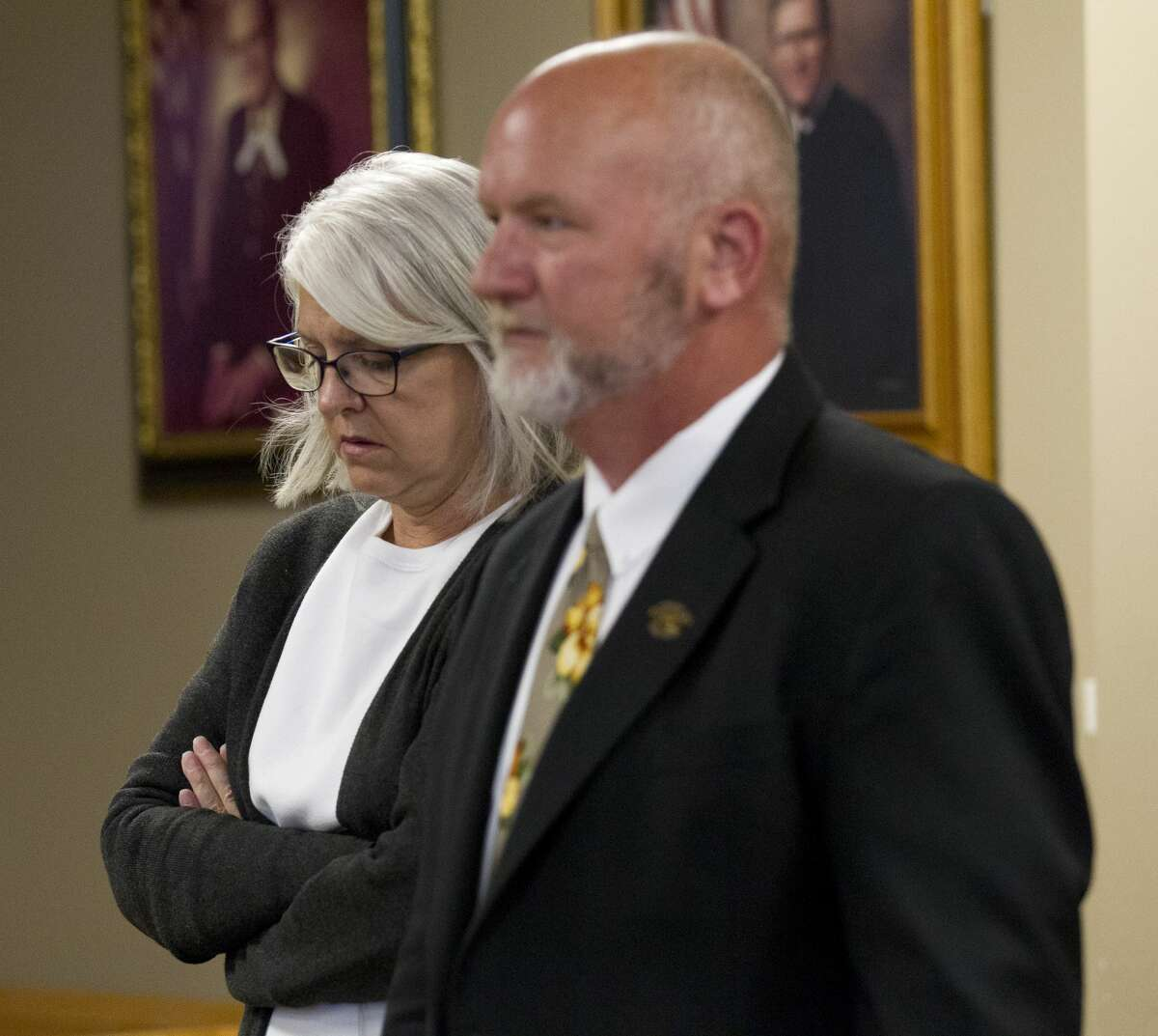 GUILTY: Well-known Montgomery County nonprofit leader Terri Jaggers pleads guilty to charges of theft and misuse of funds from Montgomery County-based nonprofit Orphan Care Solutions of Texas to purchase items for her home, fund vacations and purchase jewelry, by Catherine Dominguez.