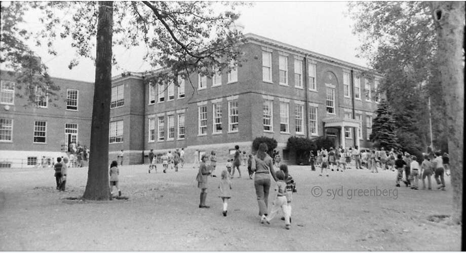 Longtime New Canaan photographer Syd Greenberg captured this image of Center School. The now closed facility will be the center of a celebration at the New Canaan Museum and Historical Society on Saturday, June 8, 2019. Contributed photo / Connecticut Post